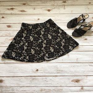 [IZ Byer] Floral Skirt